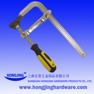 Forged Bar Clamp With Plastic Handle